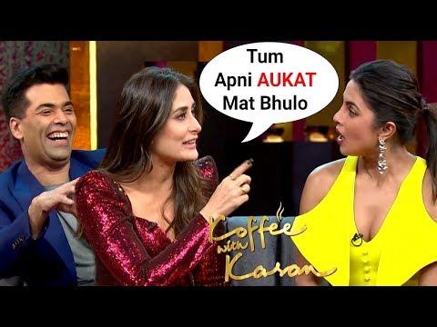 Kareena Kapoor SLAMS Priyanka Chopra On Koffee With Karan Season 6 thumbnail