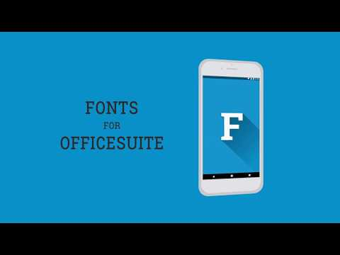 Fonts for OfficeSuite Business app for Android Preview 1