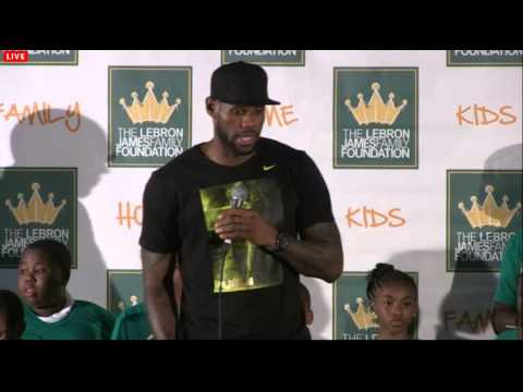 LeBron James' Homecoming 2014 - Full Press Conference