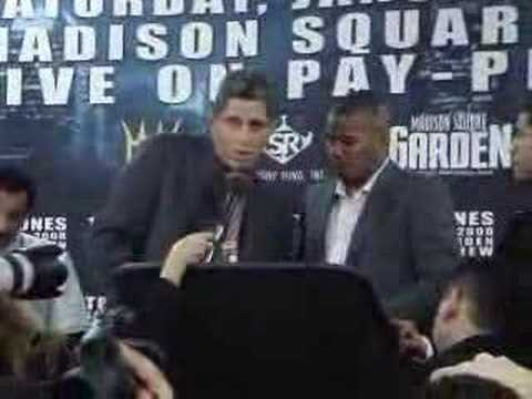 Felix Trinidad post fight presser