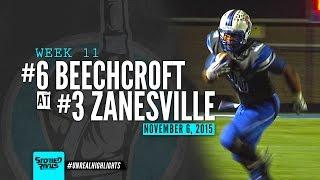 HS Football | Beechcroft at Zanesville [PLAYOFFS] [11/6/15]