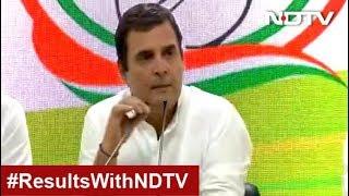 "Rahul Gandhi Concedes Defeat In Amethi, Says ""Janata Maalik Hai"""