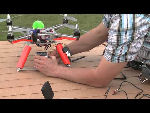 FPV (wireless video) Setup for XP2 Quadcopter for Aerial Video and Photography