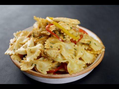 Chicken Fajita Pasta | Sanjeev Kapoor Khazana