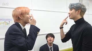 [BANGTAN BOMB] RM, Jin & V having fun singing songs - BTS (방탄소년단)