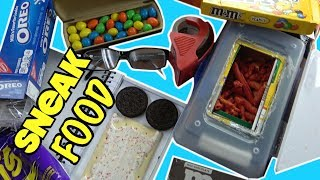 5 Ways To Sneak Food and Candy Into Class Without Getting Caught- School Life Hacks (Snack Hacks)