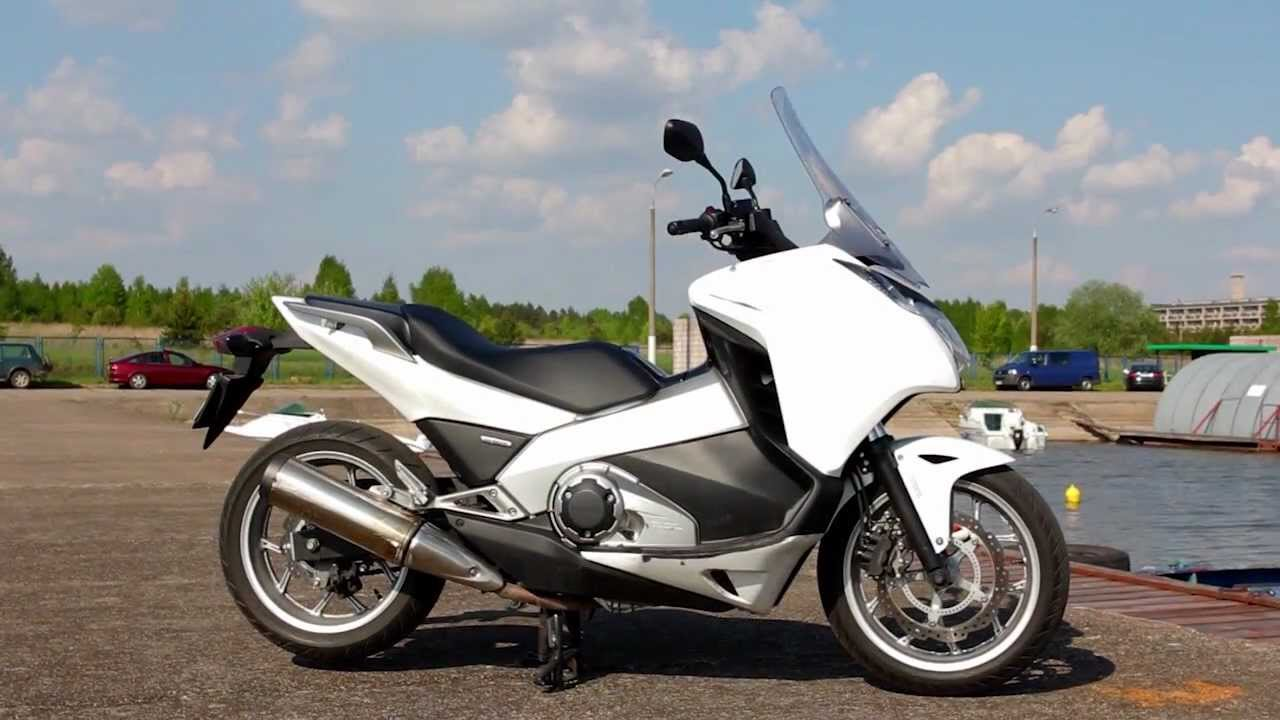 Wideoprezentacja Honda Nc700d Integra Youtube