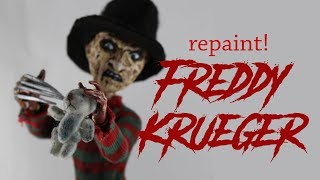 (19.4 MB) Halloween Special  Freddy Krueger Custom OOAK doll Apoxie Sculpt Mp3