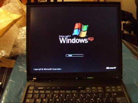 IBM Thinkpad T40 Common ATI Video Graphics Fault