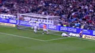Real Madrid vs  Sporting de Gijón 3-1  - 2010 jornada 28