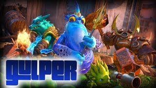 Skylanders: Trap Team - Gulper Boss Battle (Sonic Music)