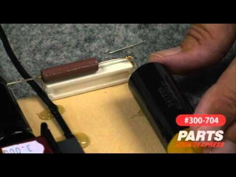 Aviatrix Part 3 Speaker Kit Crossover Assembly Video