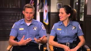 Chicago PD 2х01 Cast Interviews Marina Squerciati and Brian Geraghty
