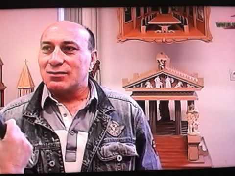 Rustam VanTv-Radio Holland 2011, duduk en eigen kunstwerken