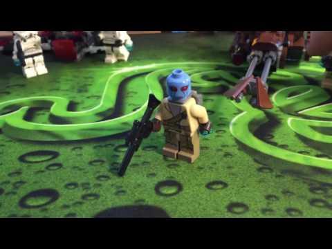 Lego Star Wars - Rebel Alliance Battle Pack Review (обзор)