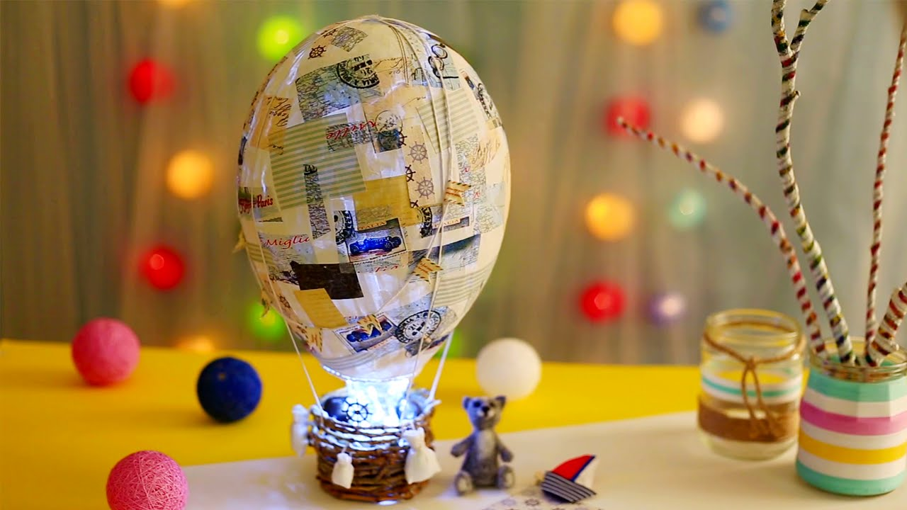 Как сделать воздушный шар своими руками в  441