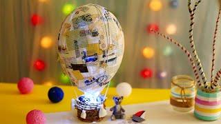 Как сделать ночник-воздушный шар своими руками