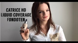 İNCELEME / REVIEW | CATRICE HD LIQUID COVERAGE FOUNDATION | Makyaj Müjhendisi