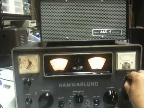 KARG Crazy QSO Night [tm]  (8/24/2012), receiving with Hammarlund HQ-100A