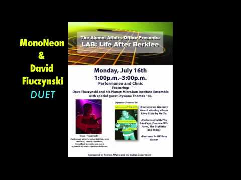 MonoNeon and David Fiuczynski DUET (audio only) | LIVE at CAFE 939