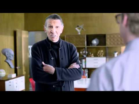 Facebook on Optik TV commercial ft. Leonard Nimoy!  So cool!!!