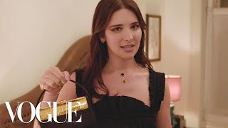 Hari Nef Gets Ready for the 2019 CFDA/Vogue Fashion Fund Awards Dinner | Vogue
