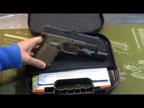 OD Green Glock 19 Gen 4 Unboxing / Show and Tell
