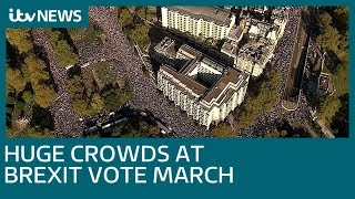 'More than half a million' join march for 'People's Vote' on final Brexit deal | ITV News