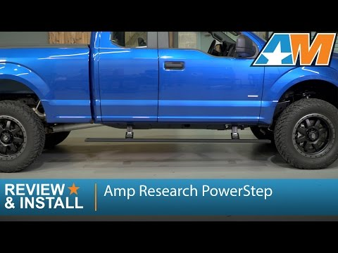 2015-2016 F-150 Amp Research PowerStep (SuperCab. SuperCrew) Review & Install