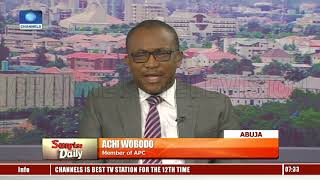 PDP Has No Right To Approach Court Over Rivers APC Controversy - Lawyer Pt.1  Sunrise Daily 