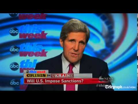 Kerry: Russian incursion 'incredible act of aggression'