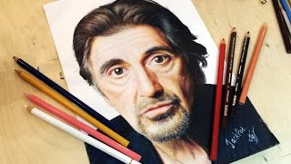 Drawing Al Pacino