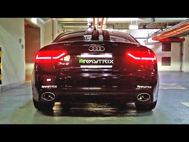 Insane Audi RS5 w/ Armytrix Cat-Back Valvetronic Exhaust ...