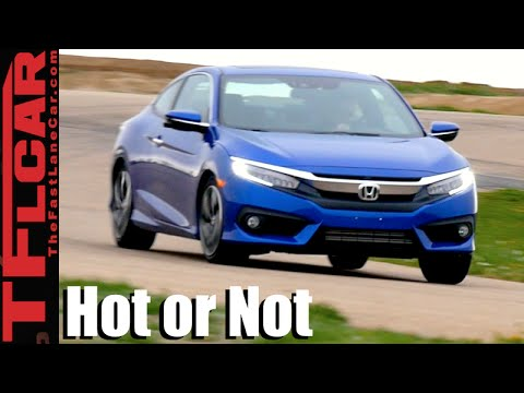 2016 Honda Civic Coupe Road, Track & 0-60 MPH Review - TFL Leaderboard Hot or Not Ep.6