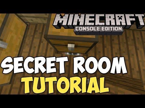 Minecraft Xbox PS3: How to Make a Secret Room 100 Hidden