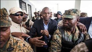 VIDEO: Haiti - Gro konplo ap fet pou kraze brize jounen 17 Octobre 2018 la. Non moun site, Lavi Jovenel an danje