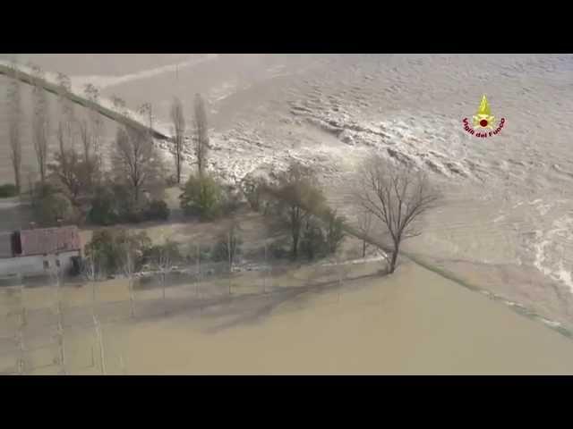 Maltempo Alluvione Reggio Emilia - Inondazione Fiume Po