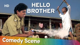 Hello Brother - Superhit Comedy Scene - Johnny Lever - #Shemaroo Comedy