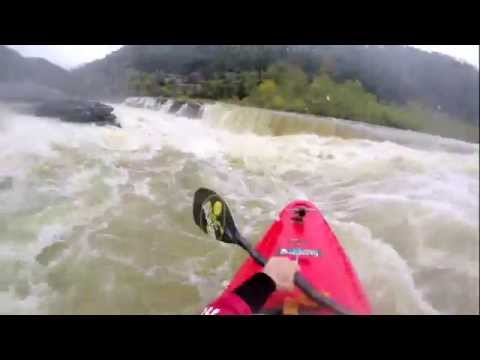 GoPro: South East High Water- Whitewater kayaking Sieve City