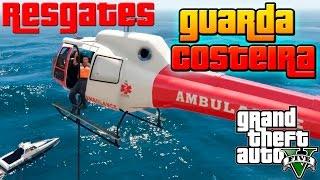 GTA V: Guarda Costeira - Helicóptero #1