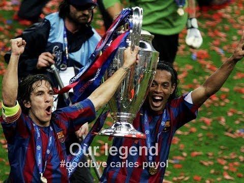 Goodbye Carles Puyol - Barcelona & Spain - Club & National hero - Our legend