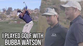 Playing 18 Holes With 2-Time Masters Winner Bubba Watson - Barstool Rounds