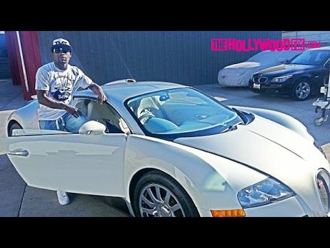Floyd Mayweather And Lisa Hernandez Riding in His Bugatti 3.20.15 - TheHollywoodFix.com