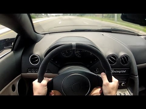 POV Drive: Lamborghini Murcielago (6 Speed Gated Manual)