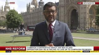 Լրագրողը չէր էլ կարող պատկերացնել, թե ինչ է կատարվում իր թիկունքում ուղիղ եթերի ժամանակ (տեսանյութ)