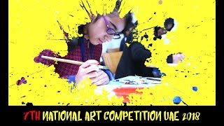 7TH NATIONAL ART COMPETITION UAE 2018 | UCDINOART | DINOART | ART & CRAFT | PAINTING CLASSES IN UAE