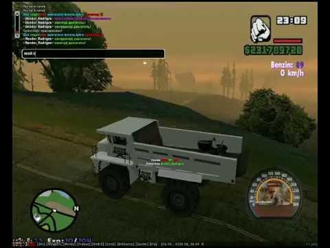 GTA San Andres перевозка в белазе.mp4