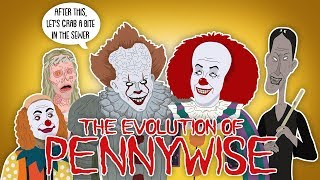 The Evolution Of Pennywise / IT (Animated)