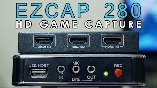 EZCAP 280 HD Video Game Capture Card Device