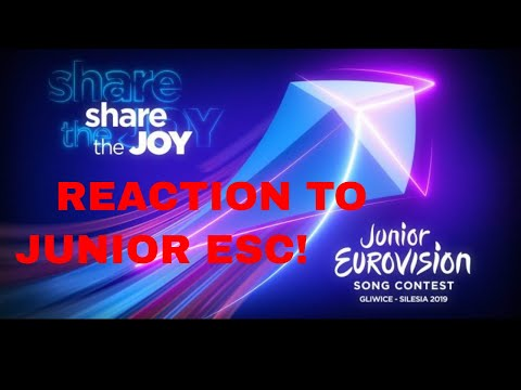 RECAP: All the songs of Junior Eurovision 2019 REACTION